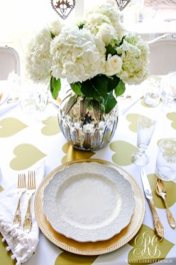 Elegant Table Settings Design Ideas For Valentines Day39