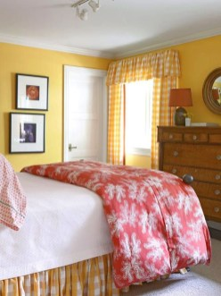 Perfect Yellow Bedroom Decoration And Design Ideas28