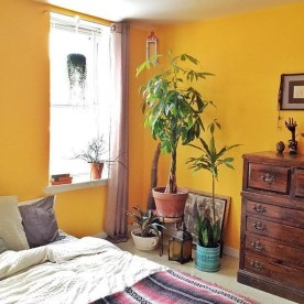Perfect Yellow Bedroom Decoration And Design Ideas33
