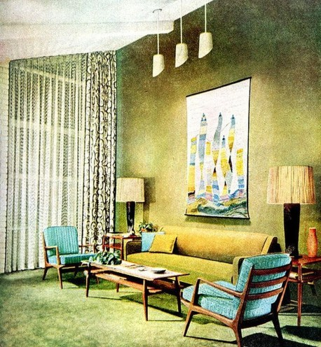 Relaxing Mid Century Modern Living Room Decor Ideas02