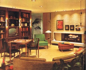 Relaxing Mid Century Modern Living Room Decor Ideas19