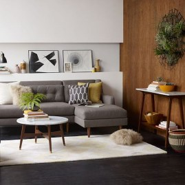 Relaxing Mid Century Modern Living Room Decor Ideas36