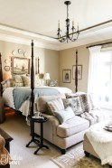 Rustic Romantic Master Bedroom Design Ideas19