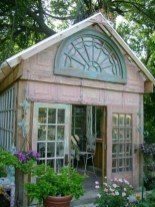 Awesome Shed Garden Plants Ideas09