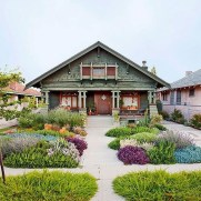 Comfy Low Maintenance Front Yard Landscaping Ideas02