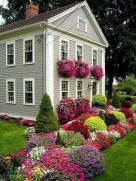 Comfy Low Maintenance Front Yard Landscaping Ideas33