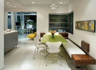 Creative Banquette Seating Ideas For Kitchen30