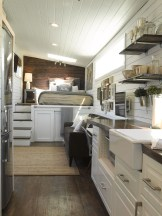 Lovely Tiny House Kitchen Storage Ideas11