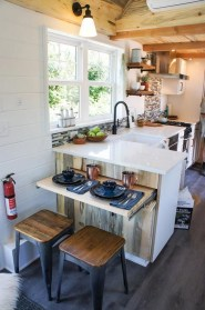 Lovely Tiny House Kitchen Storage Ideas35