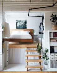 Unique Loft Bedroom Design Ideas14