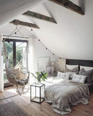 Unique Loft Bedroom Design Ideas25