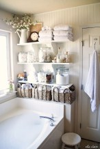Charming Bathroom Storage Ideas24
