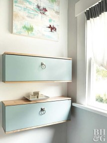 Charming Bathroom Storage Ideas29