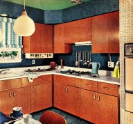 Relaxing Midcentury Decorating Ideas For Kitchen07