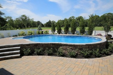 Affordable Ground Pool Landscaping Ideas19