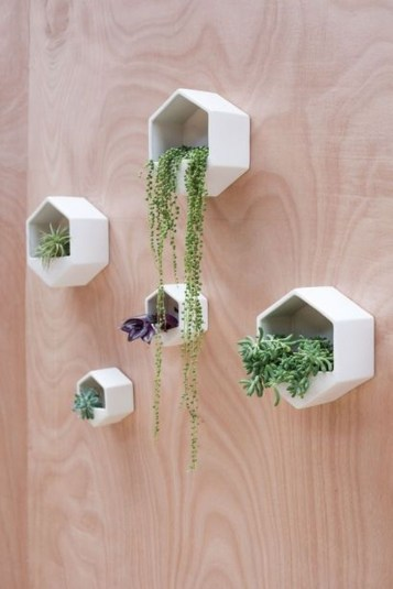 Cute Living Wall Décor Ideas For Indoor And Outdoor38