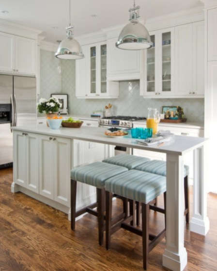 Stunning Kitchen Island Ideas With Seating20