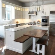 Stunning Kitchen Island Ideas With Seating21