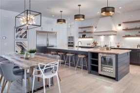 Stunning Kitchen Island Ideas With Seating29