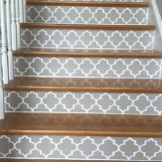 Beautiful Color Ideas For Your Stairs Decoration21