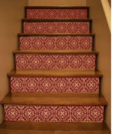 Beautiful Color Ideas For Your Stairs Decoration27