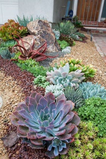 Cute Landscaping Ideas You Can Put In House Page27