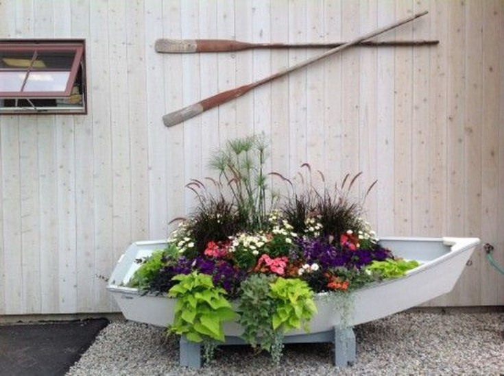 Fancy Diy Flower Beds Ideas For Your Garden23
