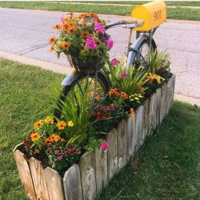 Fancy Diy Flower Beds Ideas For Your Garden37