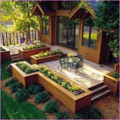 Fancy Diy Flower Beds Ideas For Your Garden41