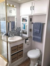 Fascinating Rv Remodel Ideas For Bathroom On A Budget47