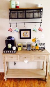 Latest Diy Coffee Station Ideas In Your Kitchen05