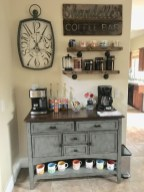 Latest Diy Coffee Station Ideas In Your Kitchen14