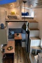 Rustic Tiny House Design Ideas With Two Beds07