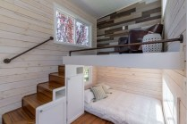 Rustic Tiny House Design Ideas With Two Beds13