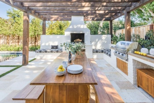 Brilliant Outdoor Kitchen Design Ideas For You Nowaday32