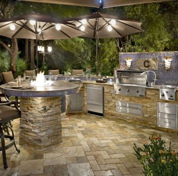 Brilliant Outdoor Kitchen Design Ideas For You Nowaday33