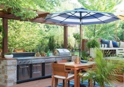 Brilliant Outdoor Kitchen Design Ideas For You Nowaday42