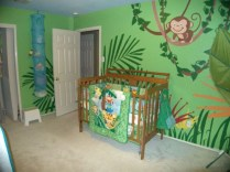 Charming Kids Bedroom Ideas With Jungle Theme To Try03