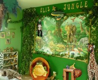 Charming Kids Bedroom Ideas With Jungle Theme To Try19