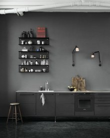 Elegant Black Kitchen Design Ideas You Need To Try11