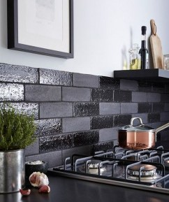 Elegant Black Kitchen Design Ideas You Need To Try15