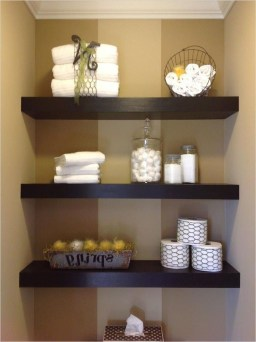 Modern Bathroom Floating Shelves Design Ideas For You04