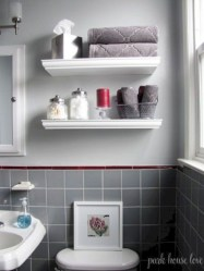 Modern Bathroom Floating Shelves Design Ideas For You39
