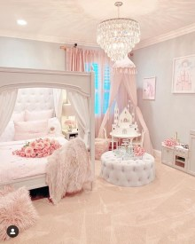 Pretty Princess Bedroom Design And Decor Ideas For Your Lovely Girl18