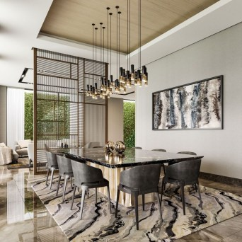 Spectacular Lighting Design Ideas For Awesome Dining Room19