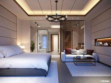 Unordinary Ceiling Design Ideas For Your Bedroom37