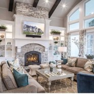 Unusual Ceiling Designs Ideas For Living Rooms13