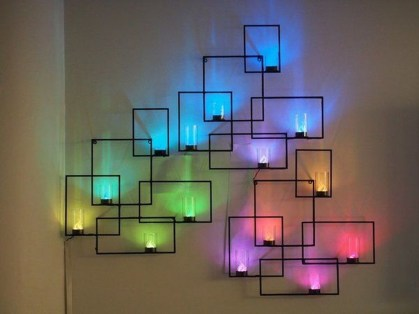 Attractive Lighting Wall Art Ideas For Your Home This Season19