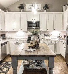 Beautiful Farmhouse Kitchen Décor And Remodel Ideas For You19