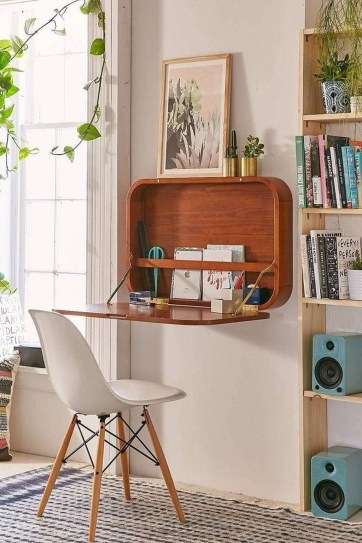 Charming Small Apartment Ideas For Space Saving35